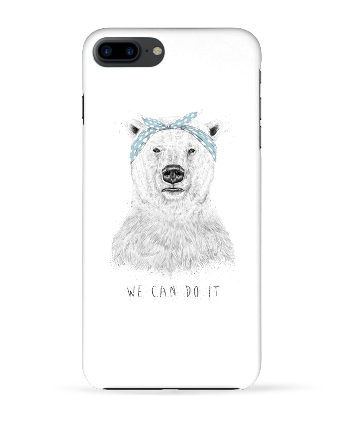 Coque 3D Iphone 7+ we_can_do_it  Balàzs Solti