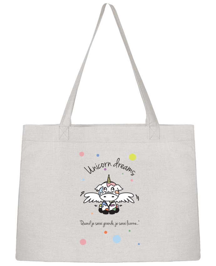 Sac Shopping Unicorn Dreams - Little cow par BlassCrea