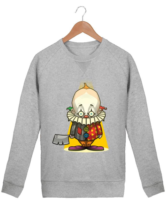Sweat Col Rond Homme Stanley Strolls Choppy Clown par SirCostas
