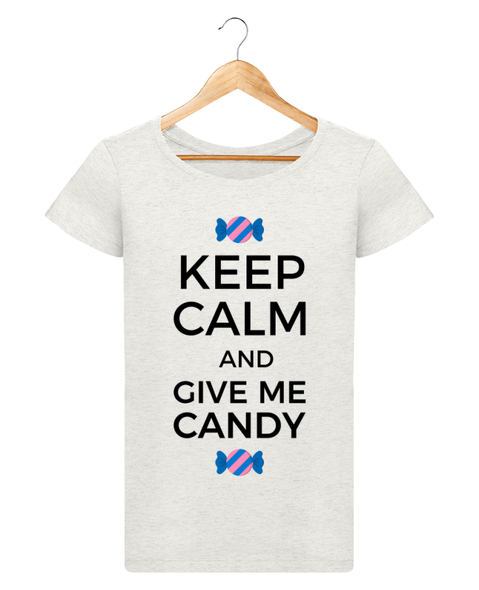 T-shirt Femme Stella Loves Keep Calm and give me candy par tunetoo
