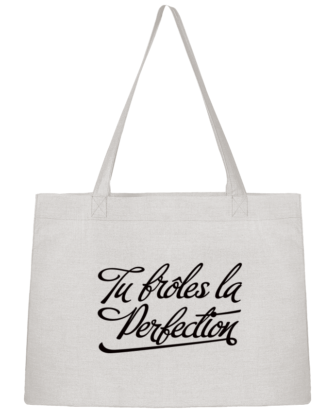 Sac Shopping Tu frôles la perfection par Freeyourshirt.com