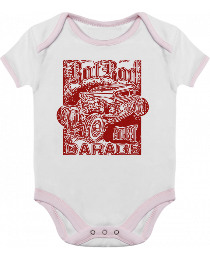 Body Bébé Contrasté Hot rod garage par David