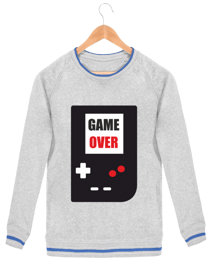 Sweat-shirt homme Stanley Strolls Tipped Game Over Console Game Boy par Benichan