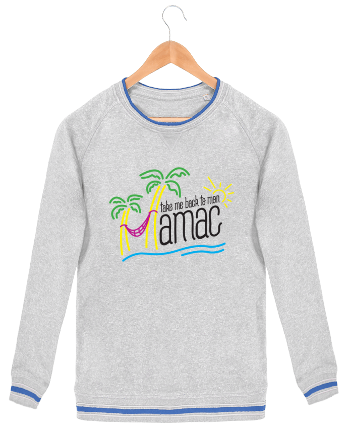 Sweat-shirt homme Stanley Strolls Tipped Take me back to mon Hamac par tunetoo