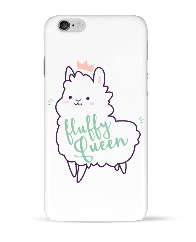 Coque 3D Iphone 6 Fluffy Queen par Nana