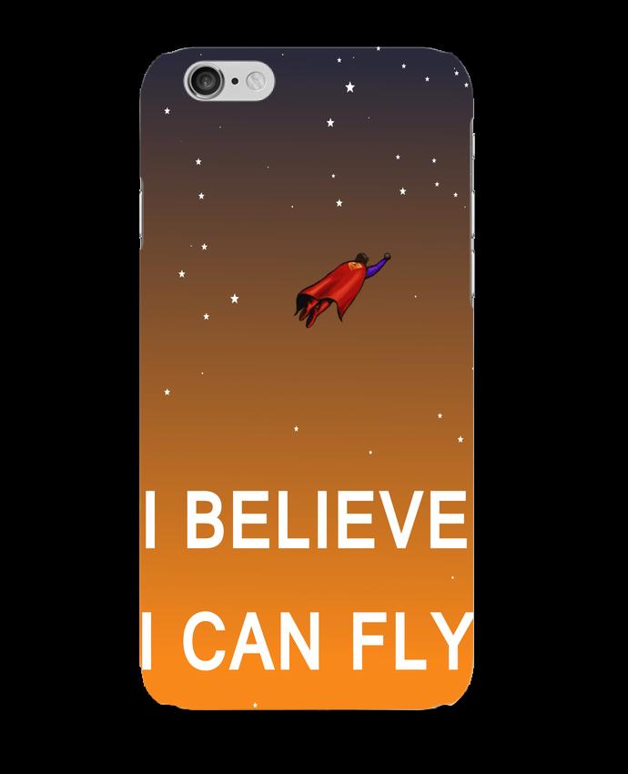 Coque iPhone 6 I believe I can fly, oui je peux! par Lia Illustration bien-être