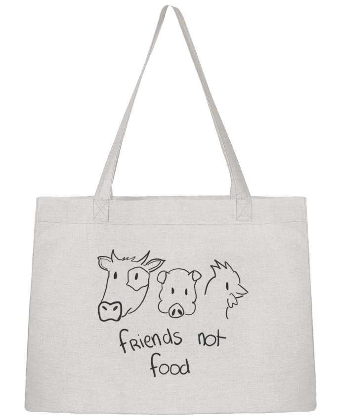 Sac Cabas Shopping Stanley Stella Friends not food par AmélieK