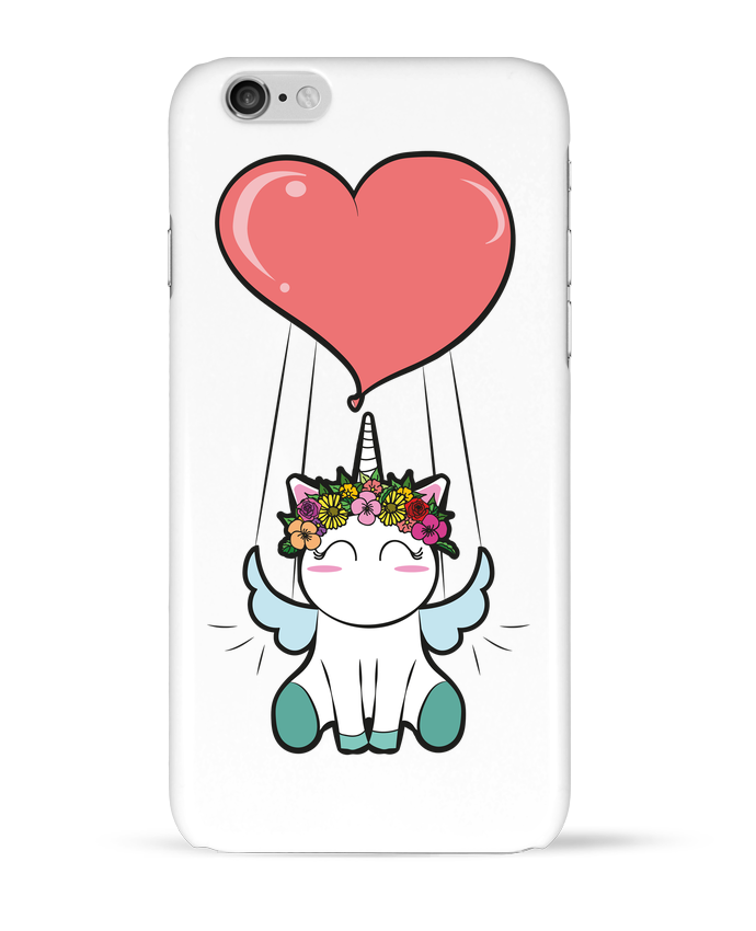 Coque 3D Iphone 6 Lovely unicorn par BlassCrea