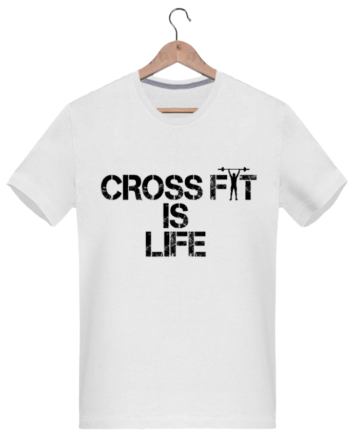 T-shirt  Homme 180g Crossfit is life  tunetoo