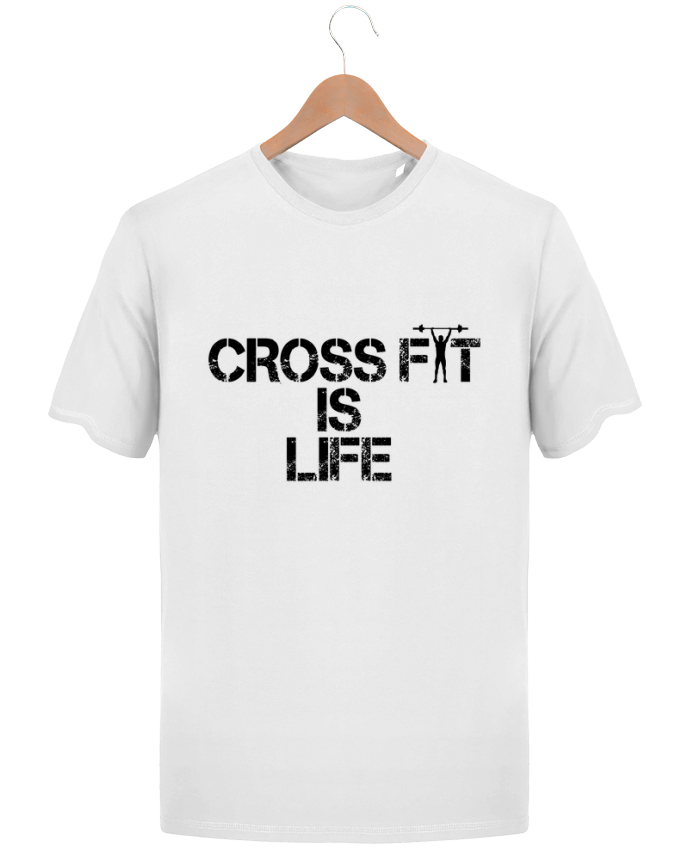 T-Shirt Homme Stanley Hips Crossfit is life par tunetoo
