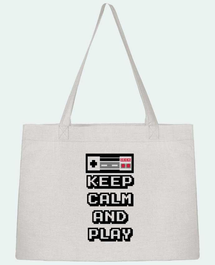 Sac Cabas Shopping Stanley Stella KEEP CALM AND PLAY par SG LXXXIII