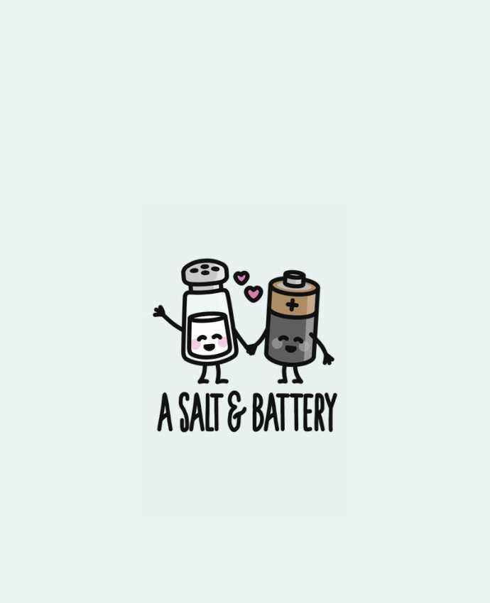 Sweat Col Rond Unisexe A salt and battery par LaundryFactory