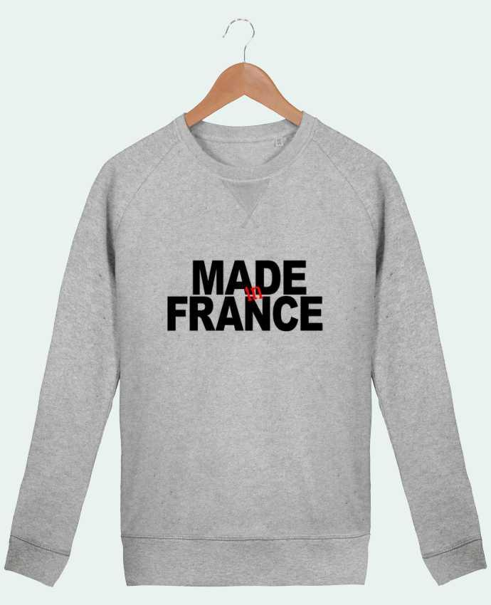 Sweat Col Rond Homme Stanley Strolls MADE IN FRANCE par datant