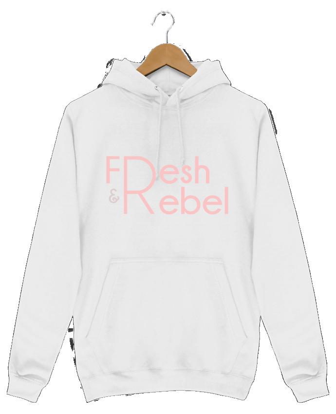 Sweat Shirt à Capuche Homme Fresh and Rebel par tunetoo