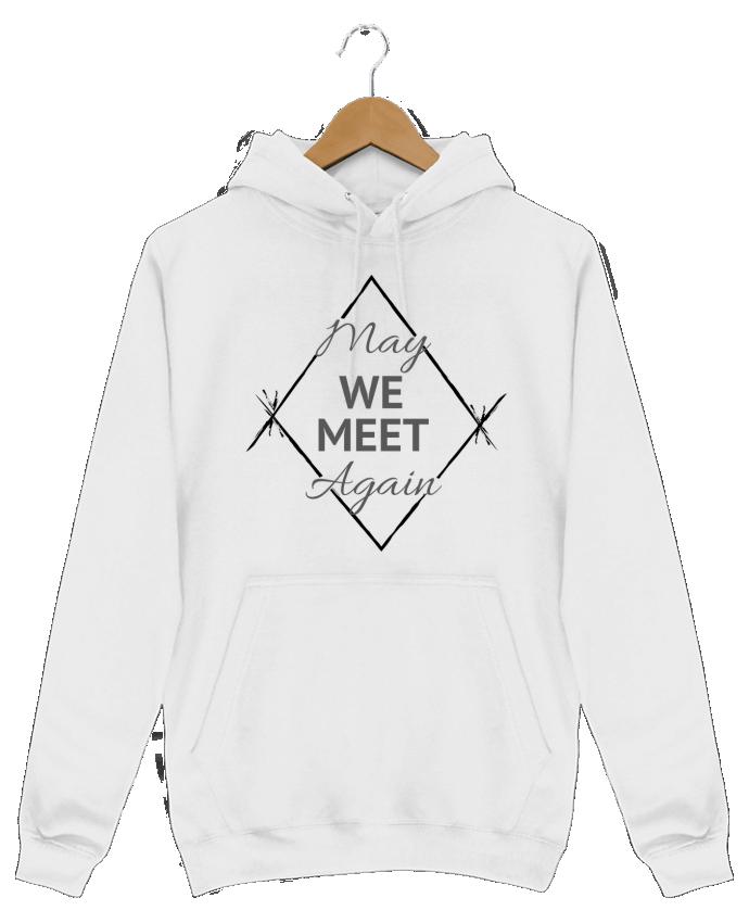 Sweat Shirt à Capuche Homme May We Meet Again par CycieAndThings