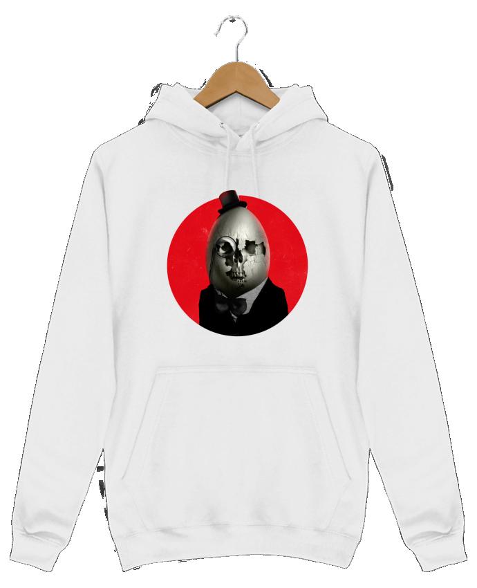 Sweat Shirt à Capuche Homme Humpty Dumpty par ali_gulec