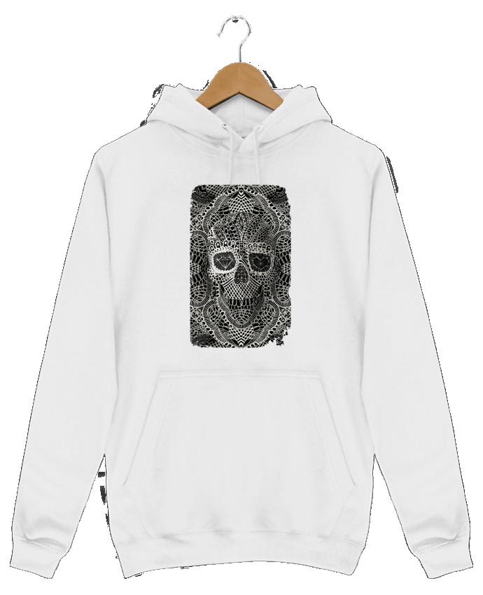 Sweat Shirt à Capuche Homme Lace skull par ali_gulec