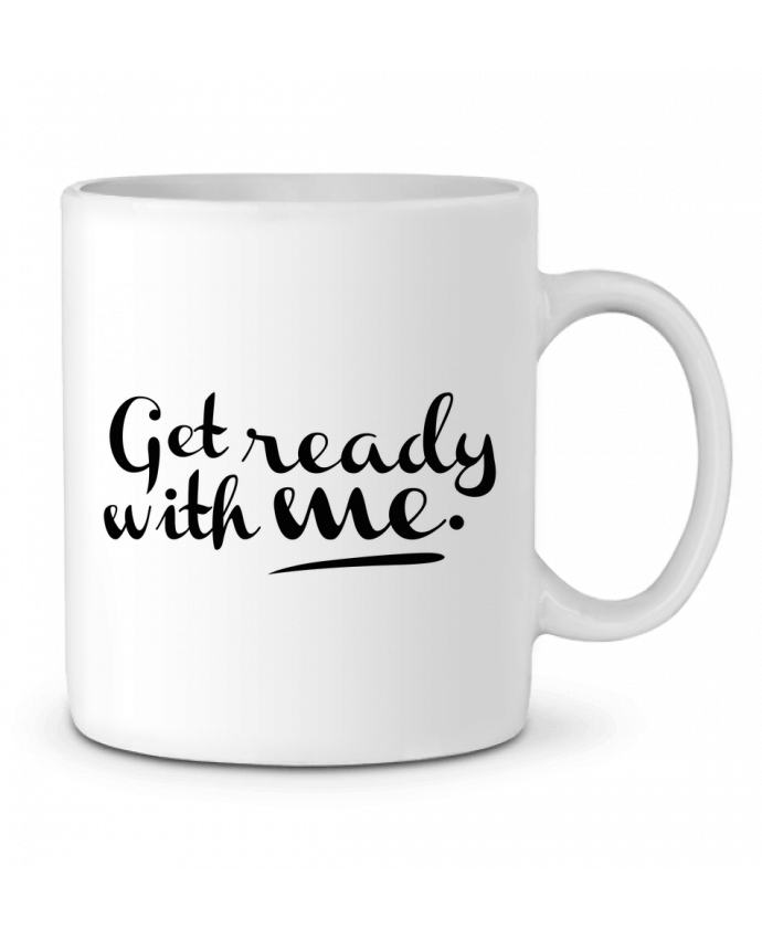 Mug en Céramique Get ready with me par tunetoo