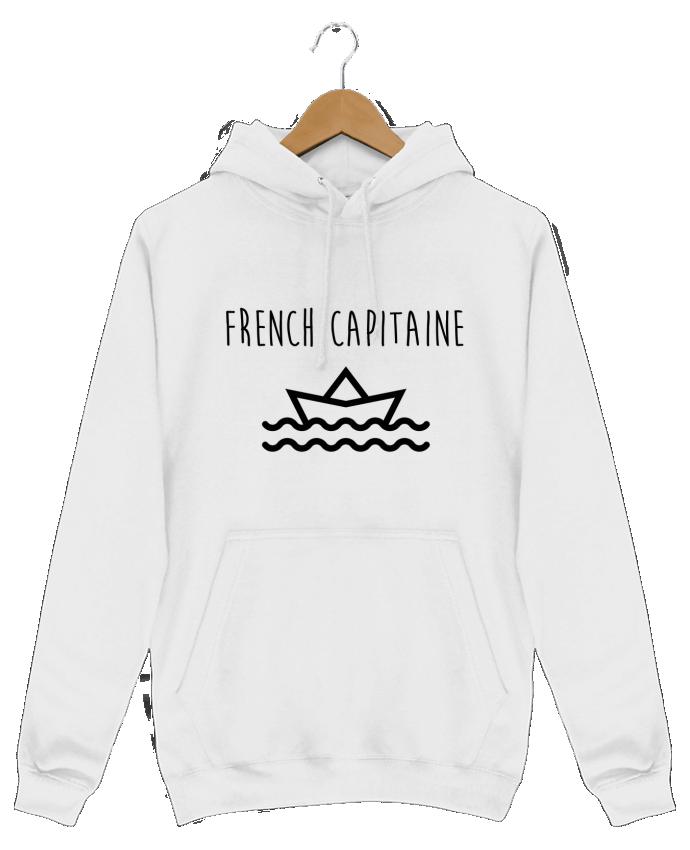Sweat Shirt à Capuche Homme French capitaine par Ruuud