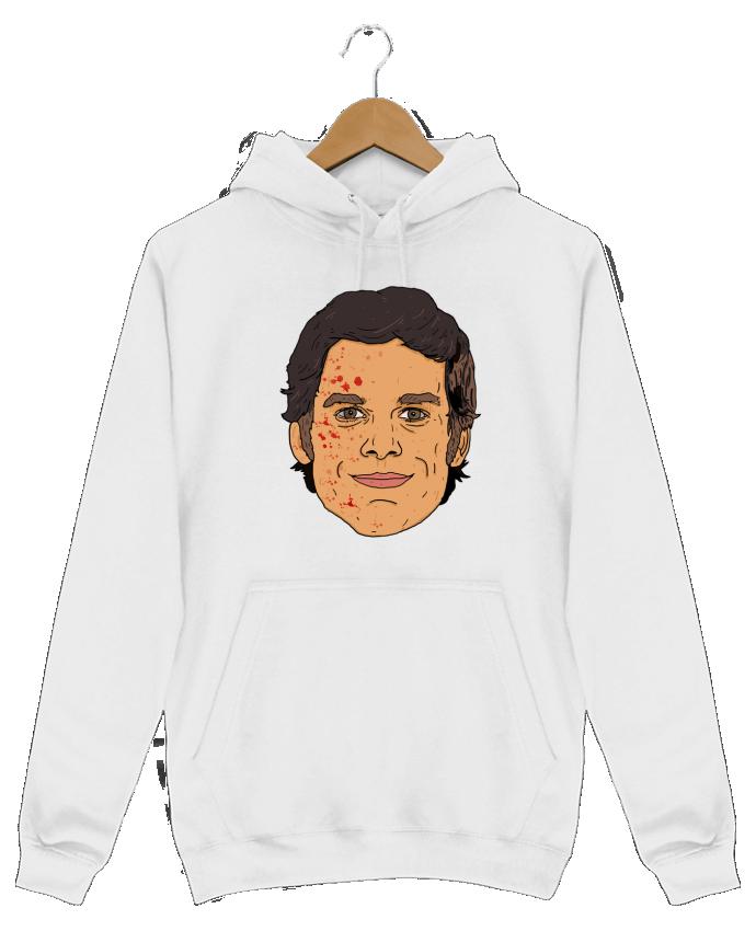 Sweat Shirt à Capuche Homme Dexter par Nick cocozza