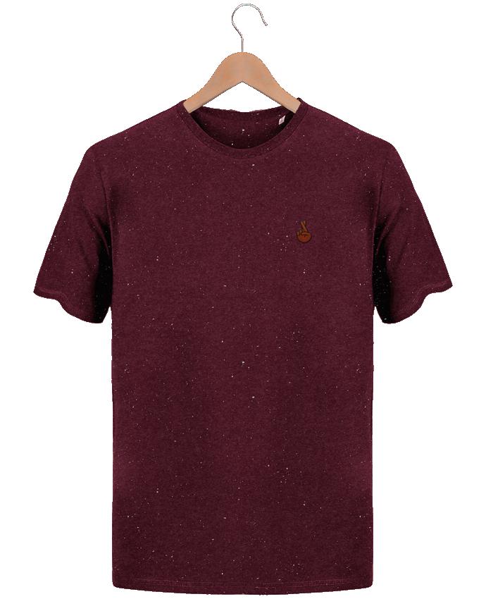 T-shirt Homme Brodé Stanley Hips Promis noir par tunetoo