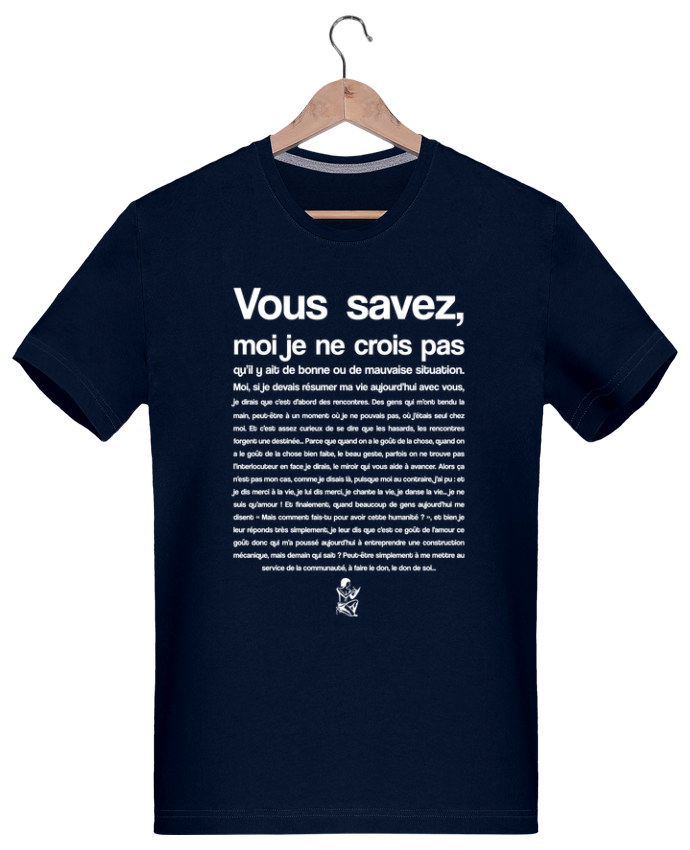 T-shirt  Homme 180g Citation Scribe Astérix par tunetoo