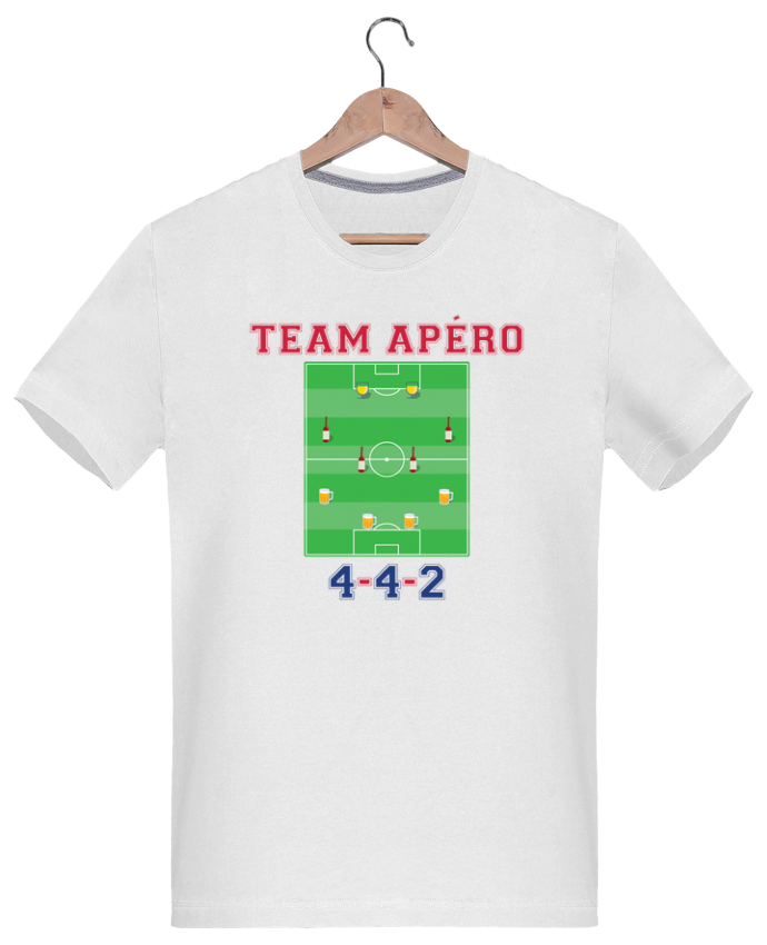 T-shirt  Homme 180g Team apéro football par tunetoo