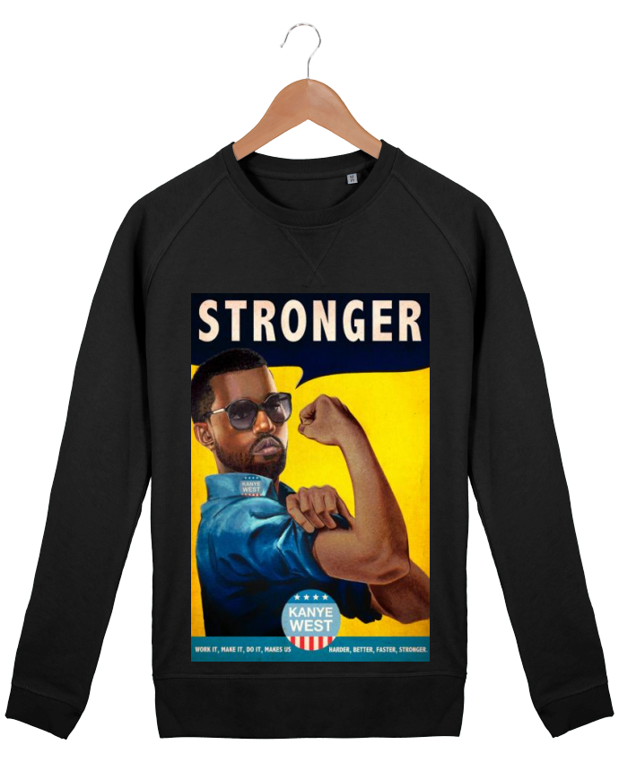 Sweat Homme Stanley Strolls Stronger par Ads Libitum