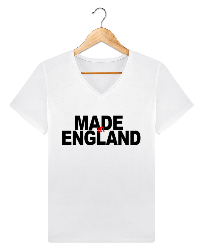 T-shirt Col V Homme Stanley Relaxes MADE IN ENGLAND par 31 mars 2018
