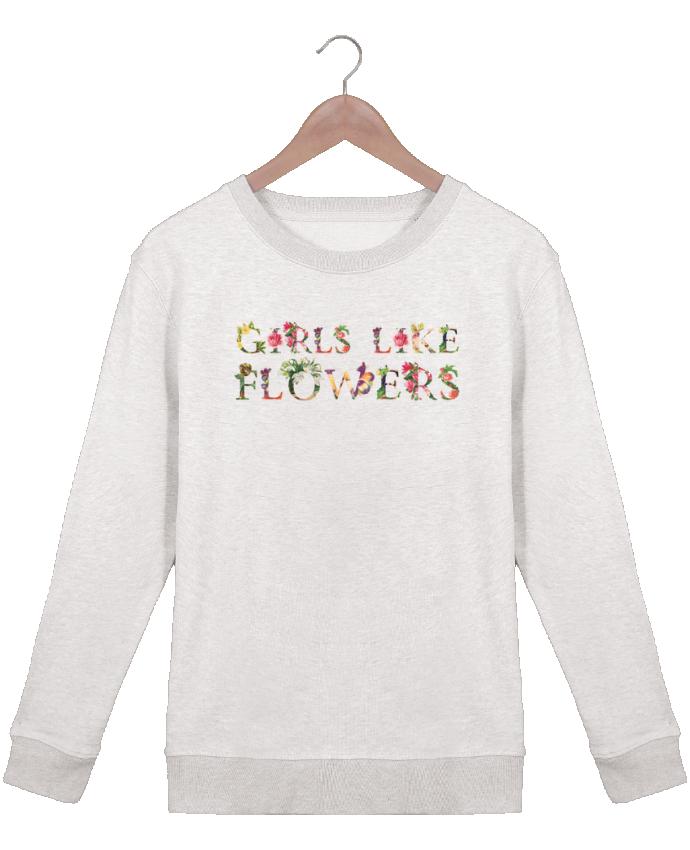 Sweat Col rond Femme Stella Hides Girls like flowers par tunetoo