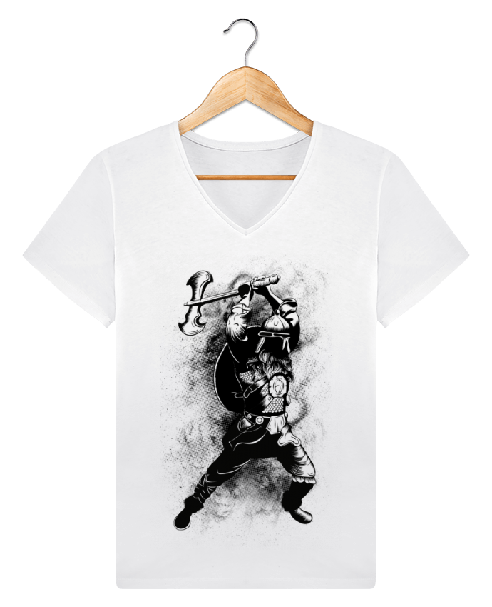 T-shirt Col V Homme Stanley Relaxes Viking par Anonymous