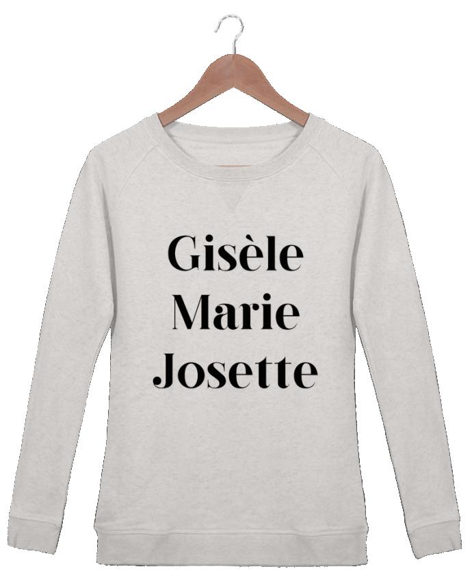 Sweat Col Rond Femme Stella Trips Gisèle Marie Josette par tunetoo