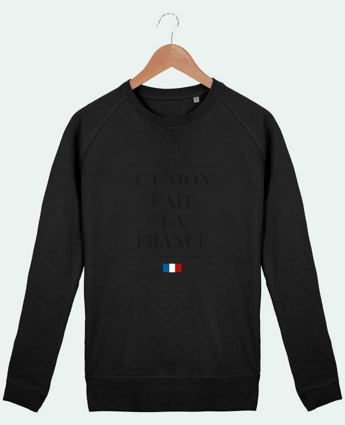 Sweat Col Rond Homme Stanley Strolls L'union fait la france par Ruuud