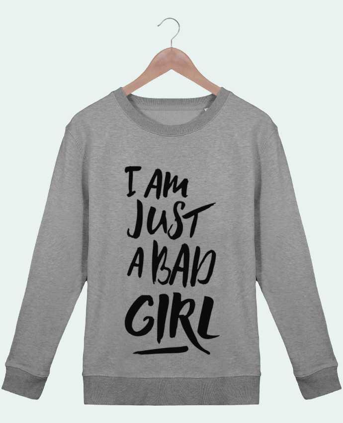 Sweat Col rond Femme Stella Hides I am just a bad girl par tunetoo