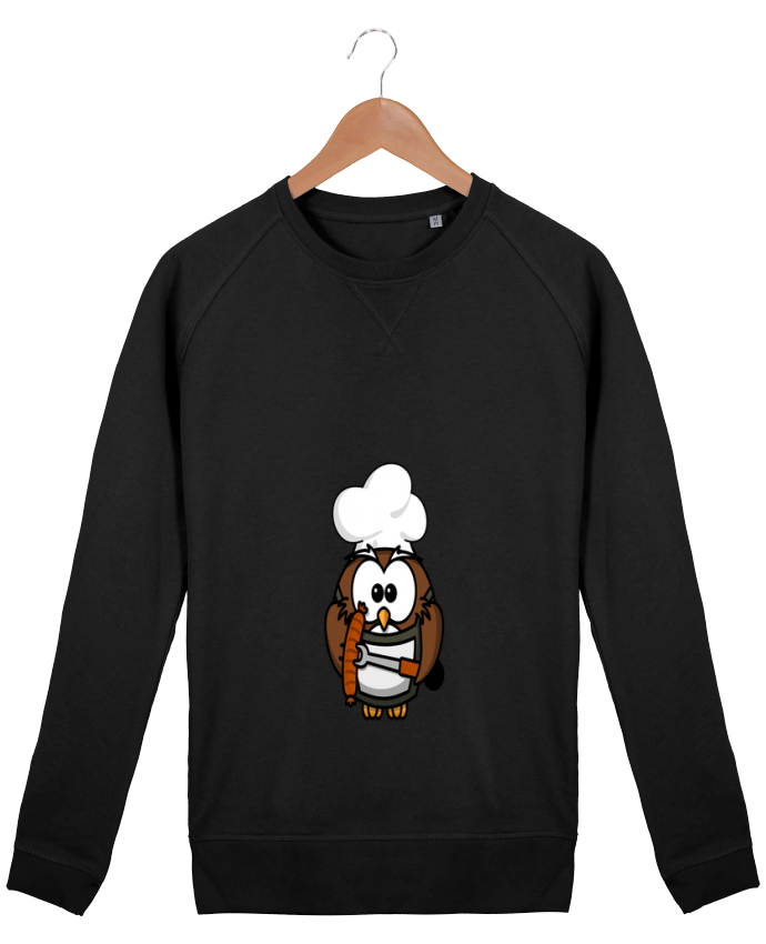 Sweat Homme Stanley Strolls BARBECUE OWL par PrinceDesign