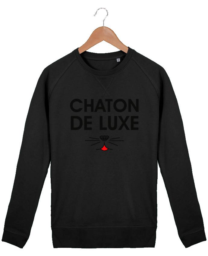 Sweat Col Rond Homme Stanley Strolls Chaton de luxe par tunetoo