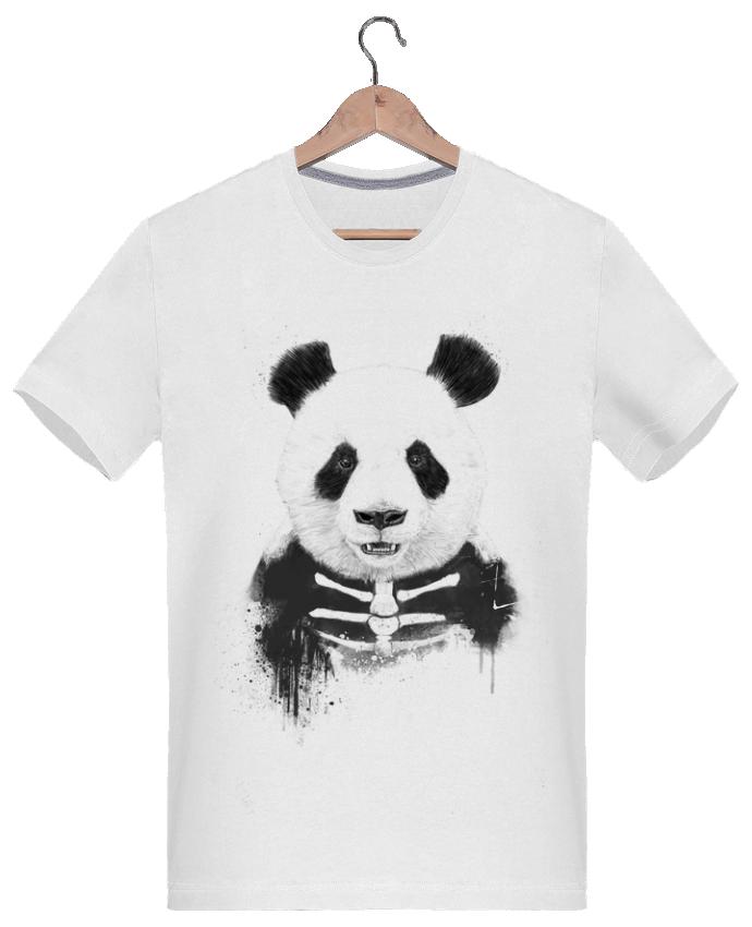 T-shirt  Homme 180g Zombie Panda par Balàzs Solti