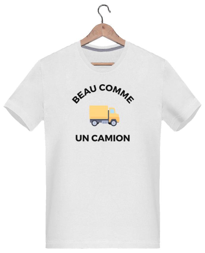 T-shirt  Homme 180g Beau comme un camion par Ruuud