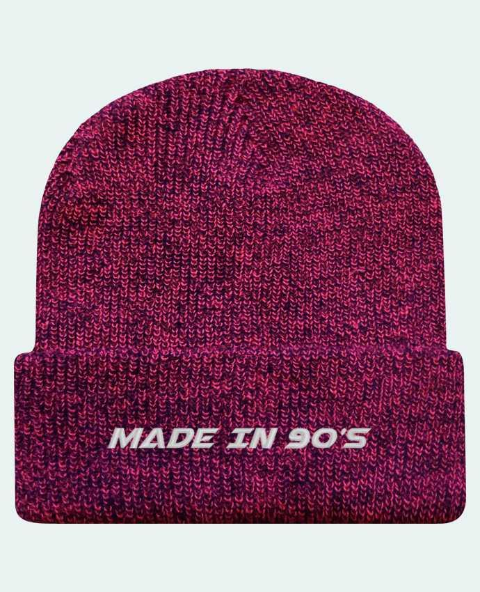 Bonnet Revers Beanie Héritage Made in 90s par tunetoo