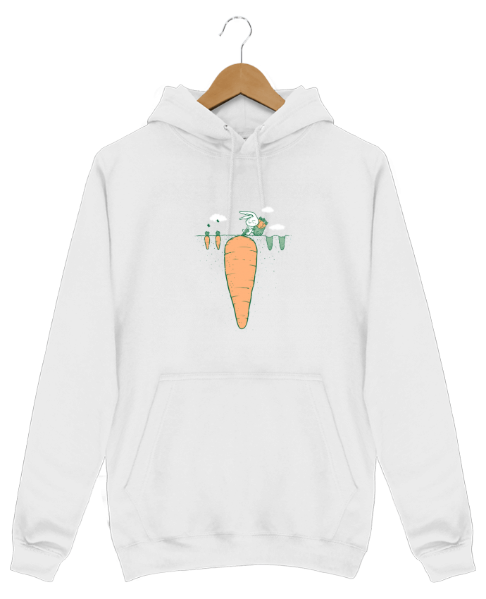 Sweat Shirt à Capuche Homme Harvest par flyingmouse365