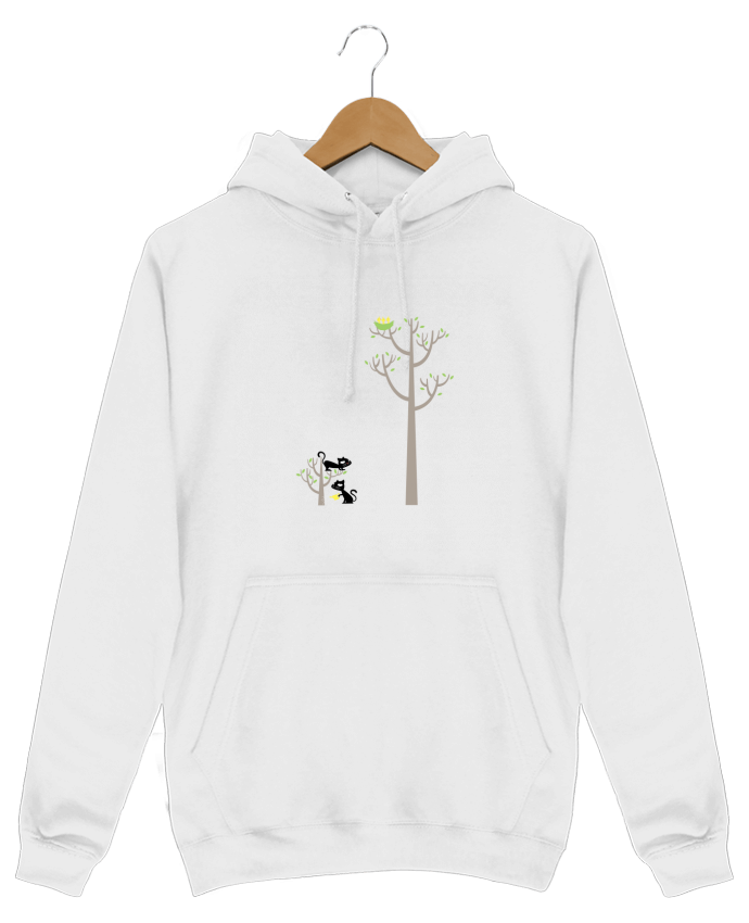 Hoodie Growing a plant for Lunch par flyingmouse365