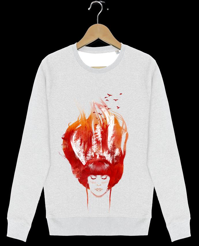 Sweat-shirt Stanley stella modèle seeks Burning forest par robertfarkas