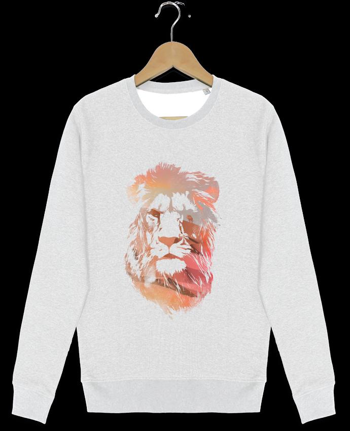 Sweat-shirt Stanley stella modèle seeks Desert lion par robertfarkas