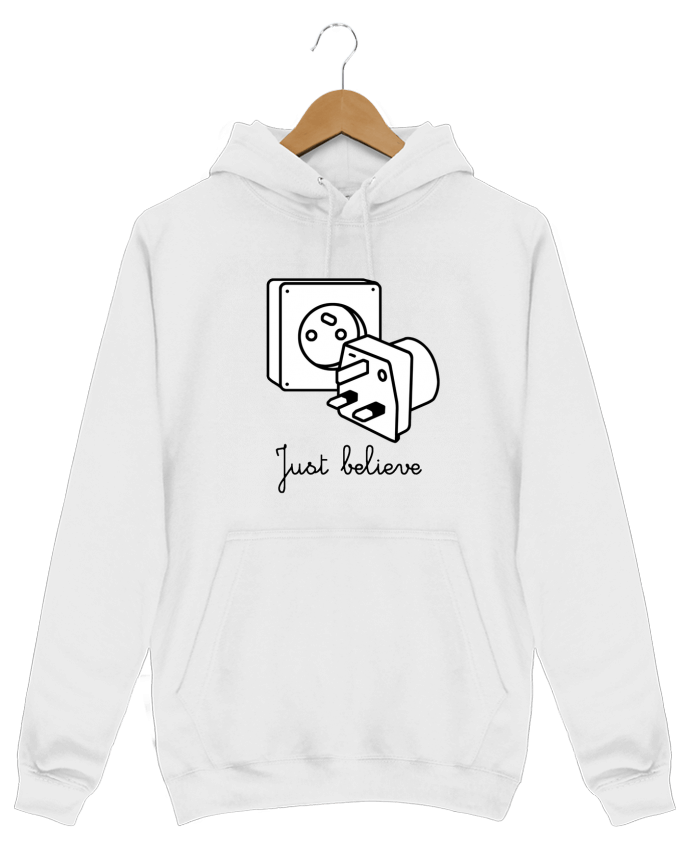 Hoodie Just believe par tattooanshort
