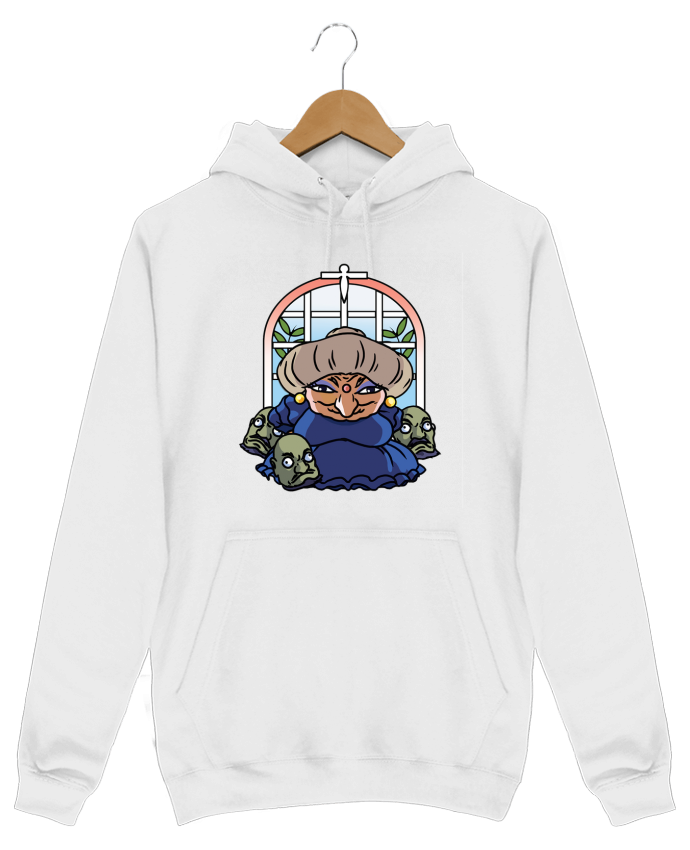 Sweat Shirt à Capuche Homme Yubaba par tattooanshort
