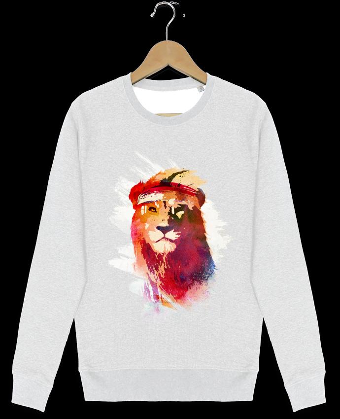 Sweat-shirt Stanley stella modèle seeks Gym lion par robertfarkas