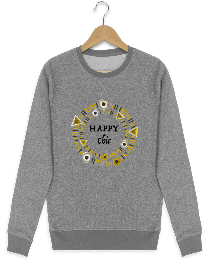 Sweat Col Rond Stella Seeks Happy Chic par LF Design
