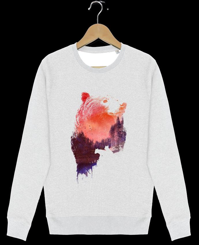 Sweat-shirt Stanley stella modèle seeks Love forever par robertfarkas