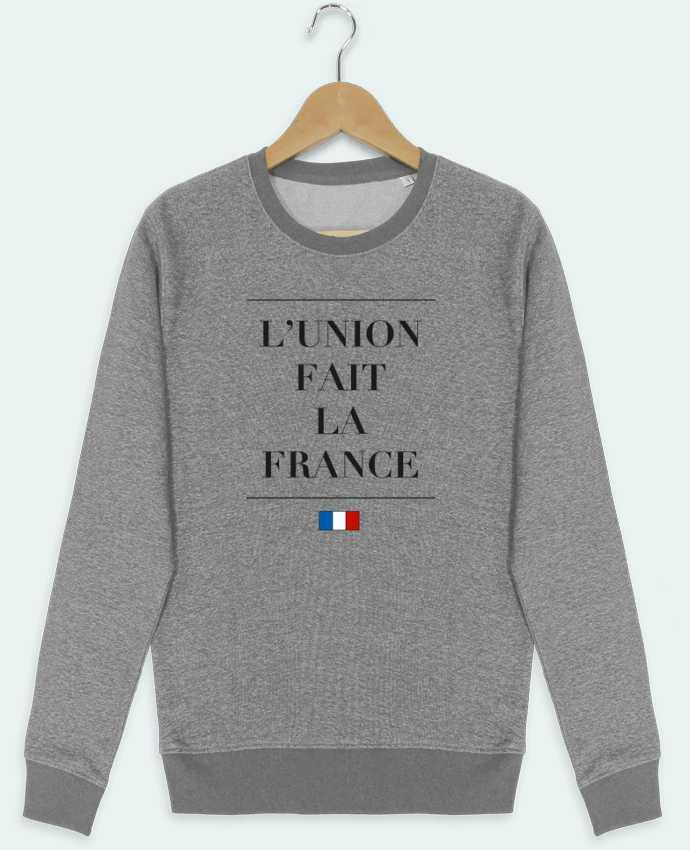 Sweat Col Rond Stella Seeks L'union fait la france par Ruuud