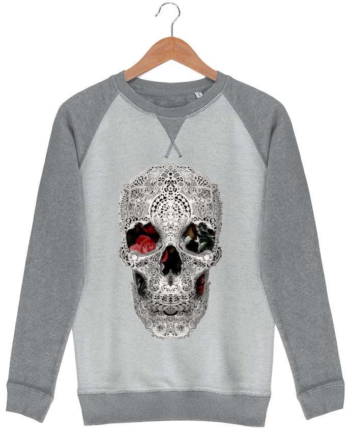 Sweat French Terry Lace skull 2 light  ali_gulec